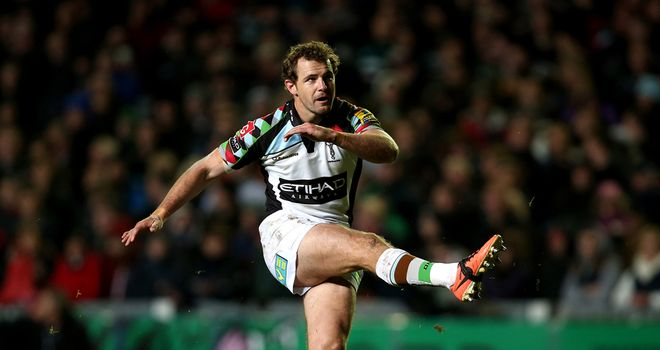 Nick Evans: At the heart of Harlequins' push for the play-offs