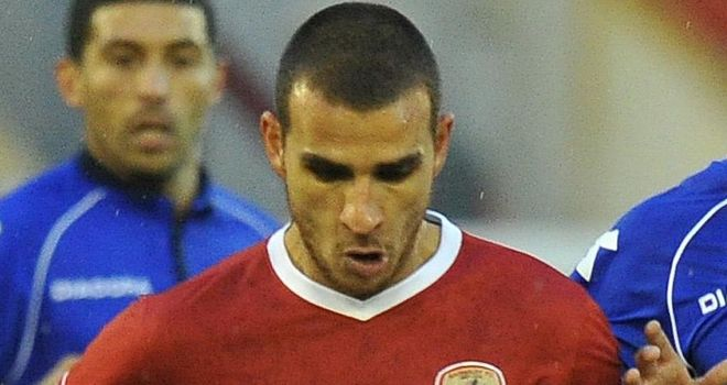 Marcus Tudgay: Saw red for Barnsley at Leeds on Saturday
