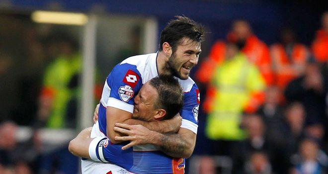 Charlie Austin: Celebrates scoring for QPR