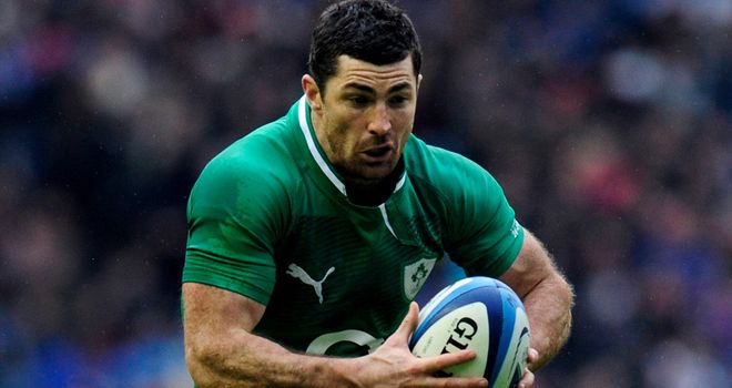 Rob Kearney: Believes Ireland will improve under Joe Schmidt
