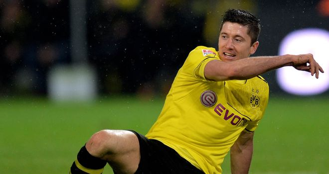 Robert Lewandowski: Hit a hat-trick against Stuttgart
