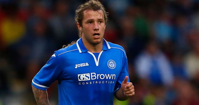 Stevie May: Netted his 22nd goal of the season