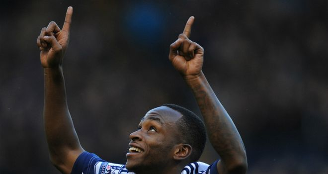 Saido Berahino: Fired home West Brom's first as they beat Crystal Palace