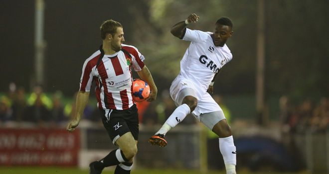 Jennison Myrie-Williams: Netted a double against non-league outfit