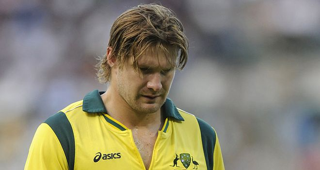 Shane Watson: Injury concern for Australia