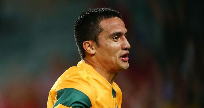 Tim Cahill: Became Australia's all-time leading goalscorer in the defeat