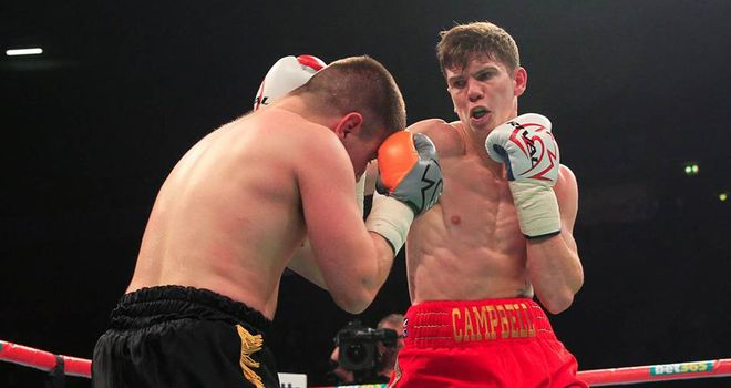Luke Campbell: Could not continue knockout streak (Image: Lawrence Lustig)