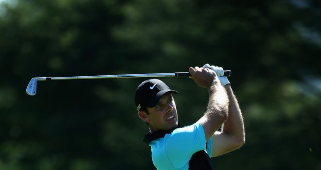 Charl Schwartzel during the third round of the Alfred Dunhill Championship at Leopard Creek Country Club