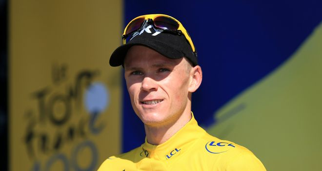 Chris Froome has been given the all-clear