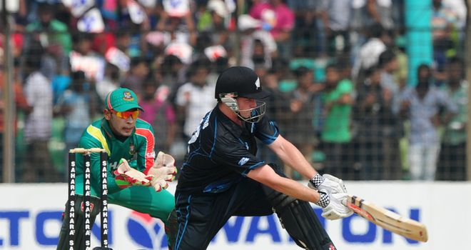 Colin Munro: New Zealand batsman took the aerial route during his 73 not out