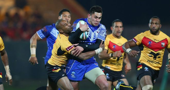 Samoa: Overpowered Papua New Guinea with their side