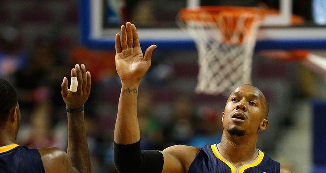 David West: Had 17 points and 13 rebounds for Indiana Pacers