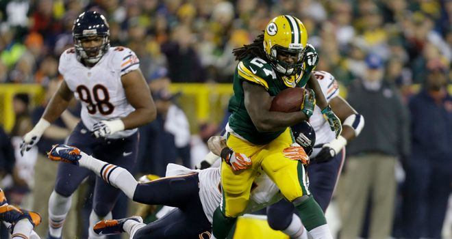 Eddie Lacy: Should recover from an ankle problem to play against the Bears