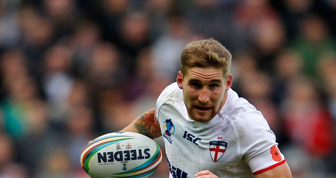 Sam Tomkins: Man of Steel in 2012