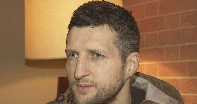 Carl Froch: Determined to continue reign as world champion