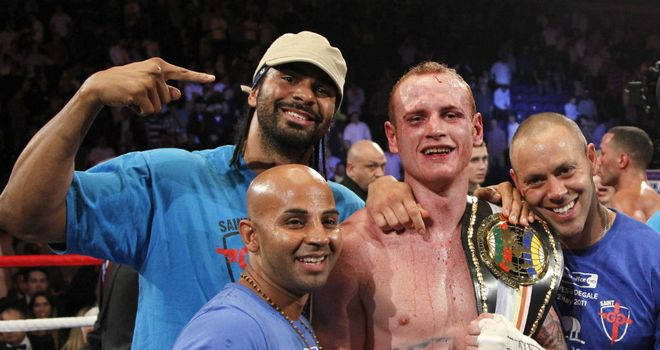 George Groves: Used to train with David Haye under coach Adam Booth