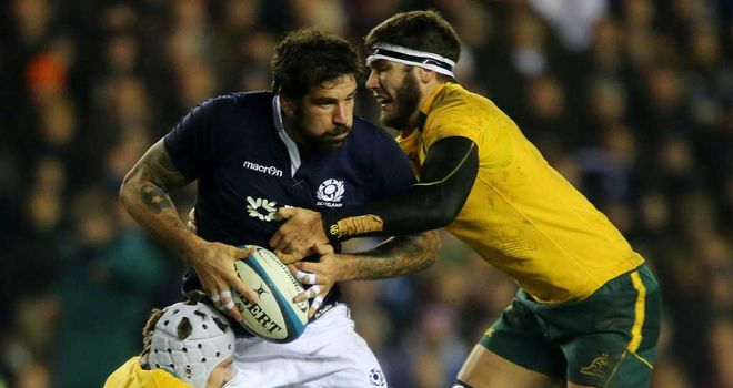 Jim Hamilton: Lock wants ruthless streak from Scotland