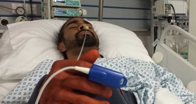 David Haye required surgery to repair his right shoulder