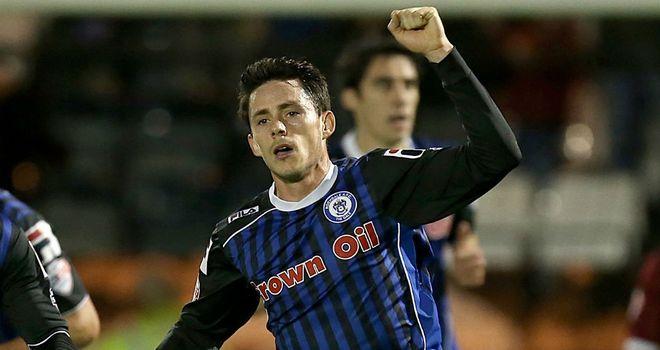 Ian Henderson: Converted a penalty for Rochdale