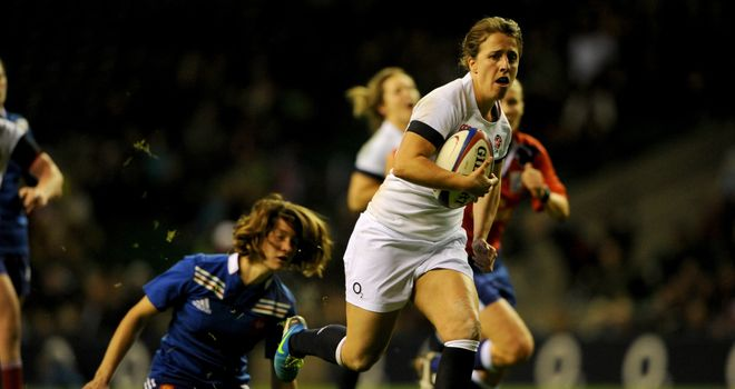 Katy McLean: led by example with a 49th-minute try
