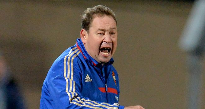 Leonid Slutsky: CSKA Moscow coach unhappy with mistakes
