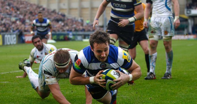 Martin Roberts: Was one of try scorers in comfortable Bath win