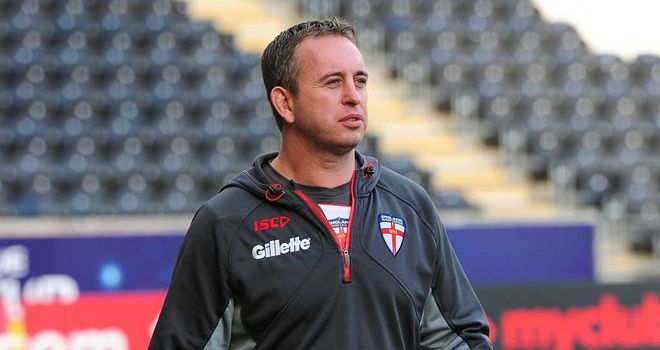 England coach Steve McNamara: looking forward