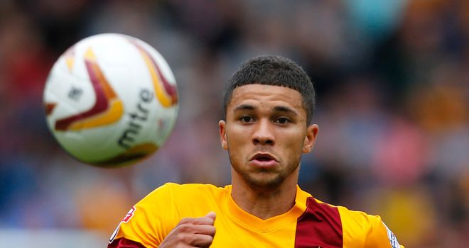 Nahki Wells: Netted treble for Bradford