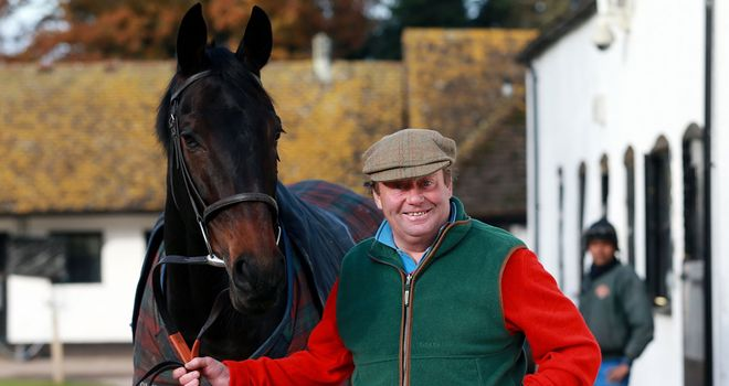 Sprinter Sacre: Faces five rivals when he returns to action at Kempton