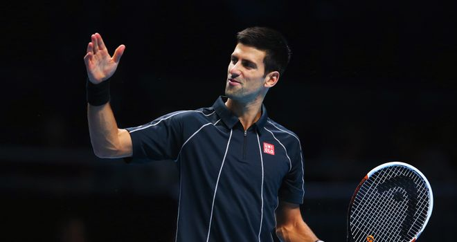 Novak Djokovic: tough workout ahead of Sunday's semi-final