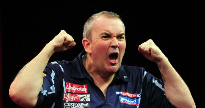 Phil Taylor: Punters keen to take him on in PDC Wolrd Championship