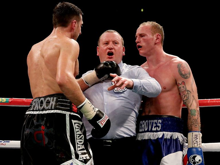 George Groves: Felt his defeat to Carl Froch was unjust and unfair