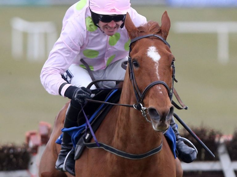 Walsh and Annie Power in action