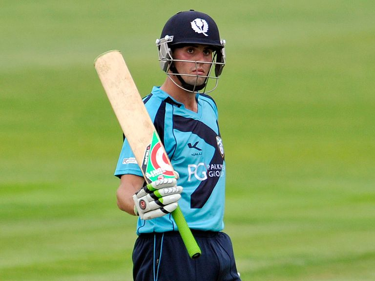 Calum MacLeod: Smashed 145 for Scotland this week