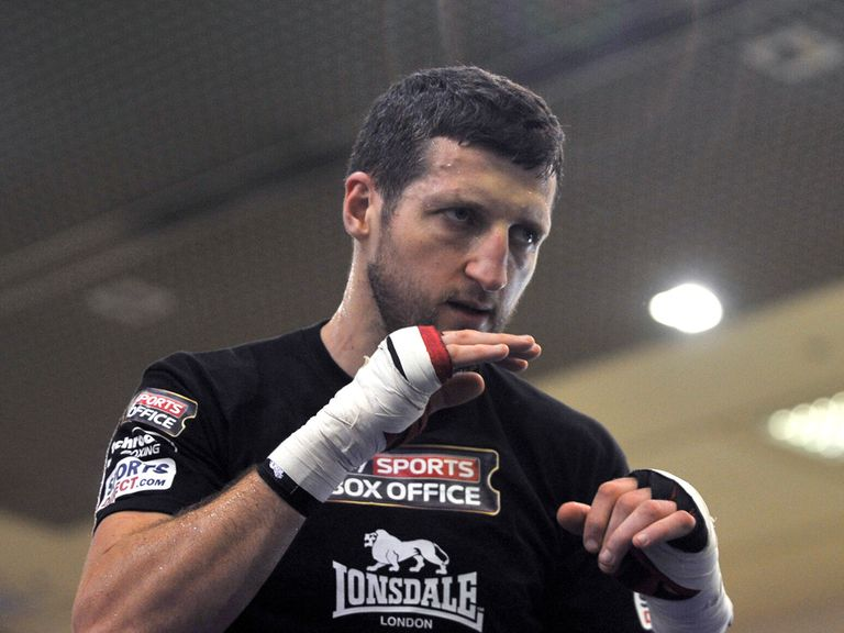 Carl Froch: Claims he will fight George Groves in Nottingham