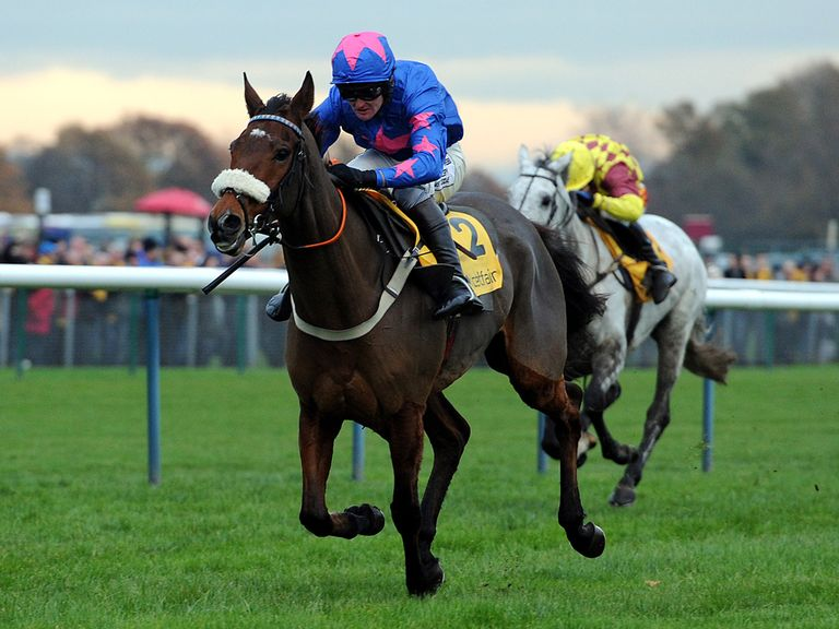 Cue Card: Rated 9lbs superior by Timeform