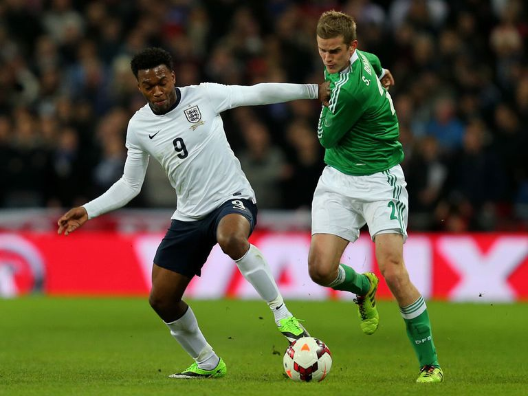 Daniel Sturridge: Pleased England manager Roy Hodgson