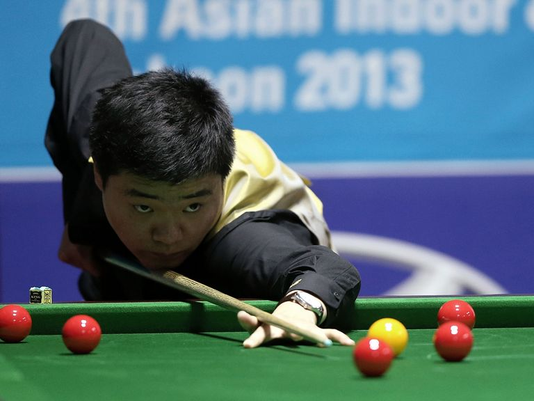 Ding Junhui: Booked his place in the final