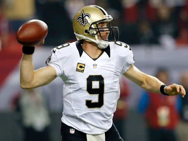 Drew Brees: Inspired his side to victory