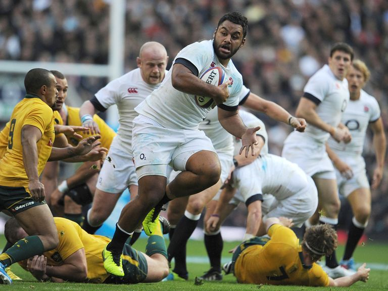 Vunipola in action against Australia