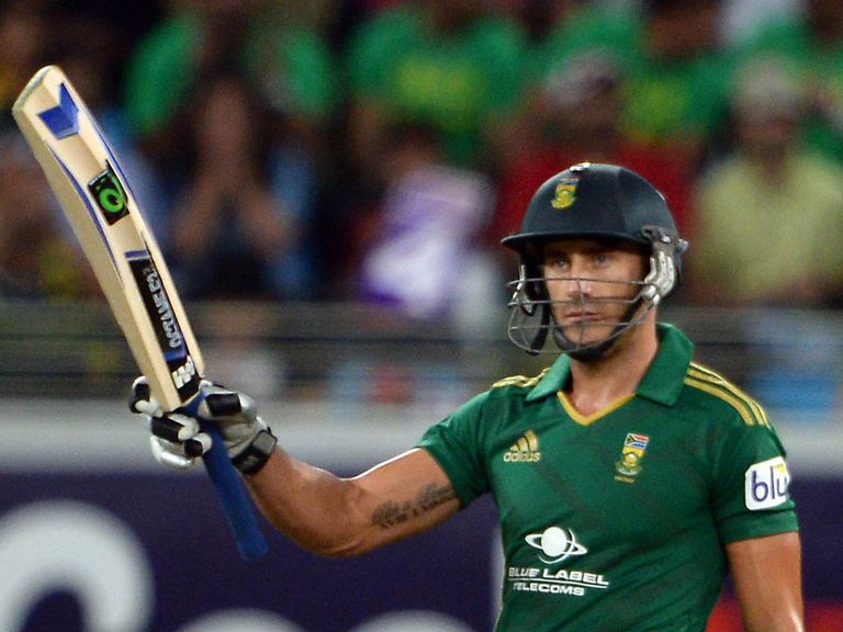Faf du Plessis: Misses Saturday's clash with England