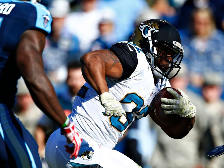 Maurice Jones-Drew: Touchdown against the Titans