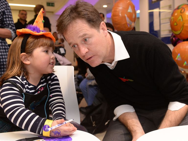 'Mr Clegg is it true what Cheeky says about Halloween being American nonsense?'