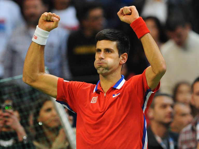 Novak Djokovic: Defending champion and this year's title favourite