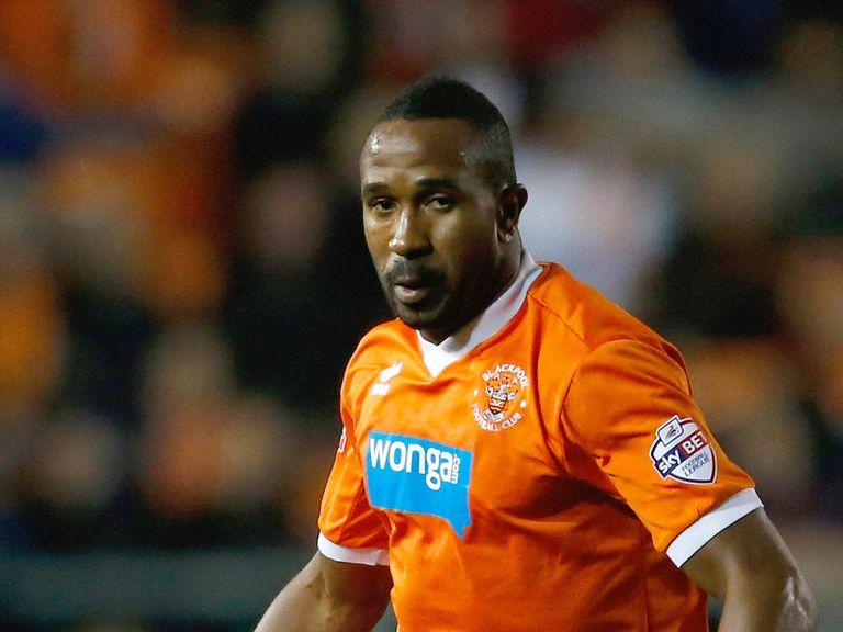 Ricardo Fuller: Misses out for Blackpool