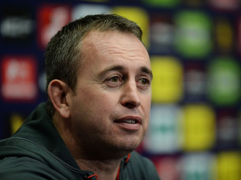 Steve McNamara's England will open against Fiji or Samoa on October 25