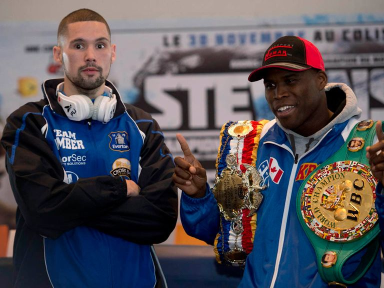 Adonis Stevenson (r): A rising star at 36