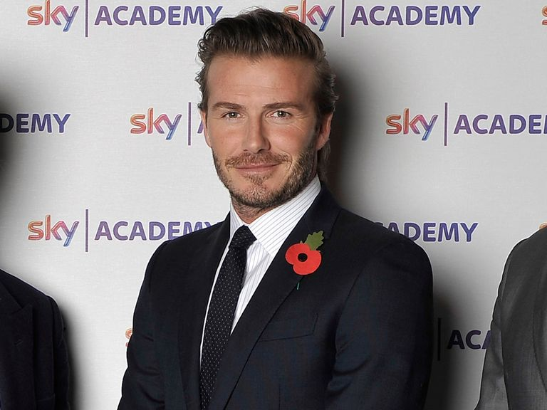 David Beckham: Making an announcement on Wednesday