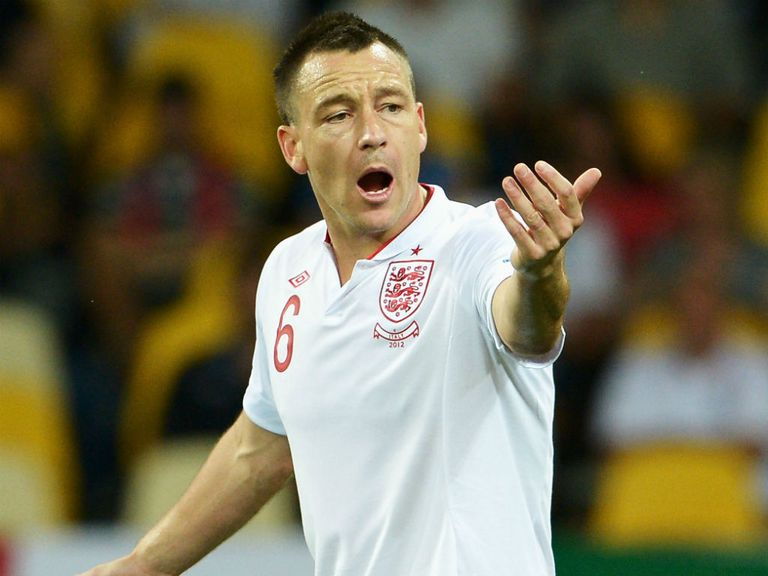 John Terry: Ended England career in 2012
