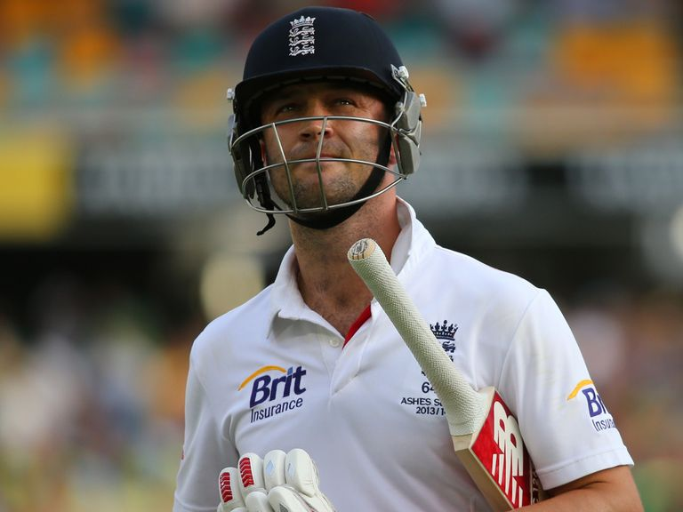 Jonathan Trott: 'Nothing left in the tank'